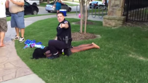 Texas Police Officer Suspended After Violent Encounter with Teen Girl at Pool Party