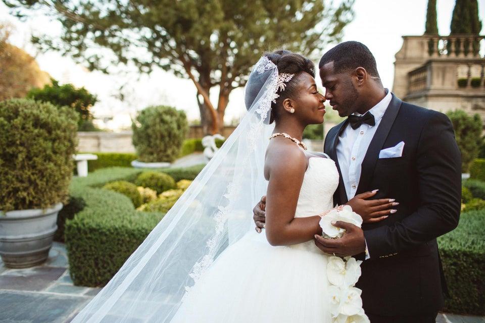 Bridal Bliss: Dunnie and Ibrahim's Lavish Beverly Hills Wedding