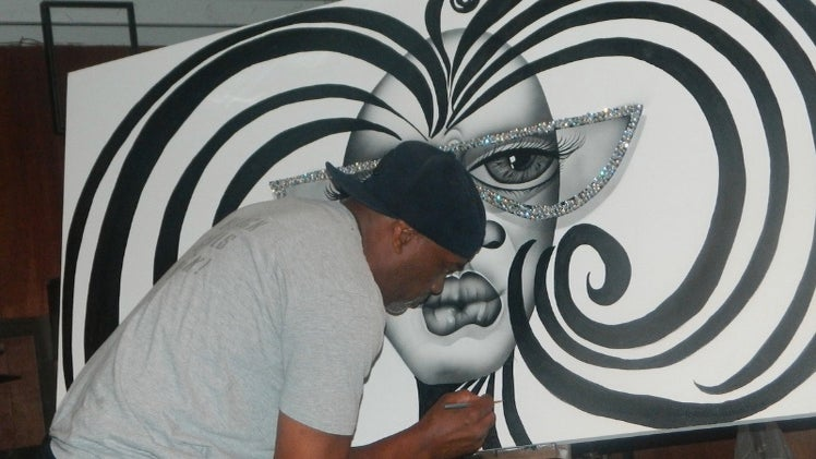 Vendor Spotlight: Get to Know Why Tyler Perry & President Obama are Fans of Lydell Martin's Work