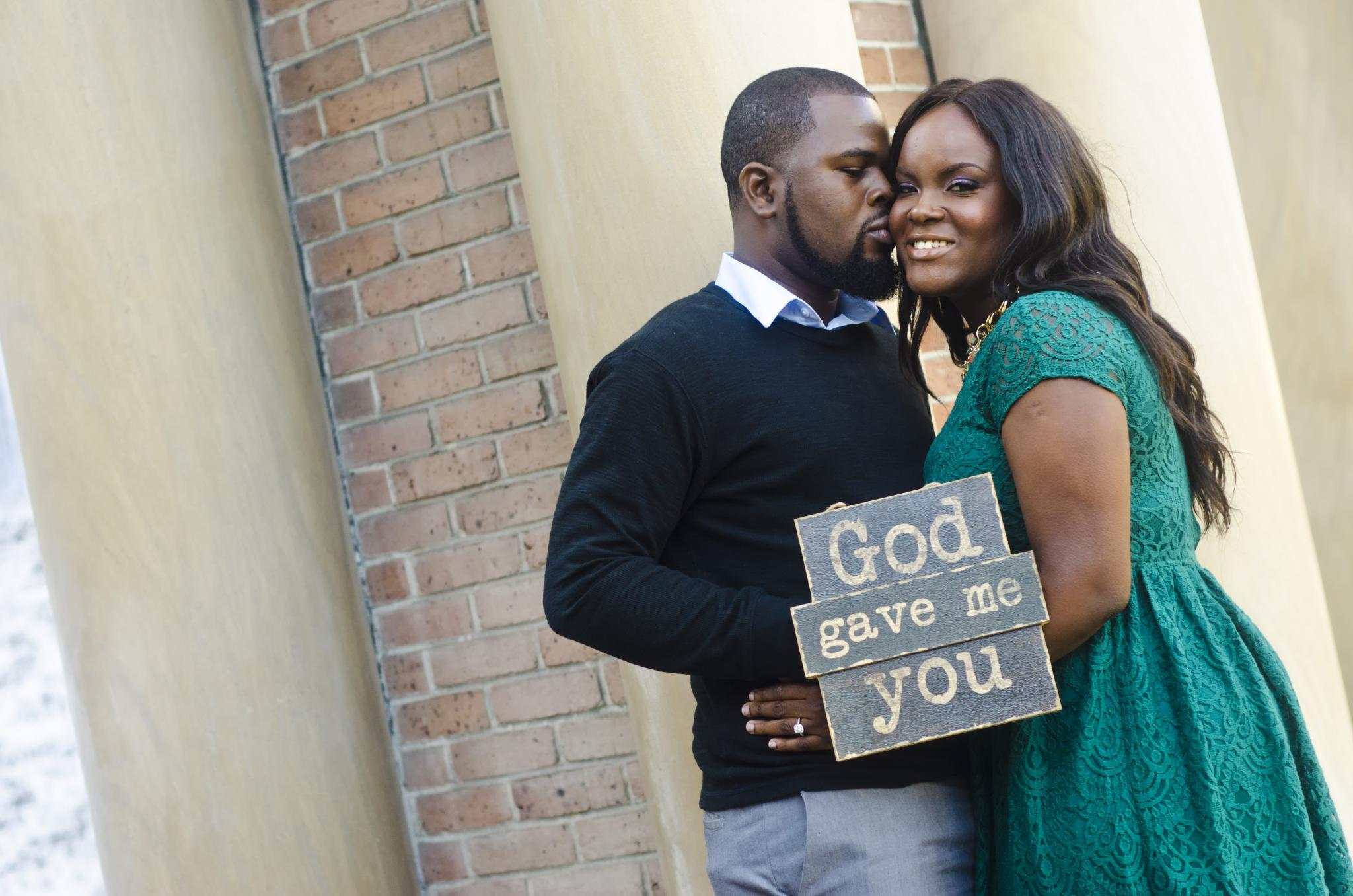 Just Engaged: They Found Love Through Fellowship