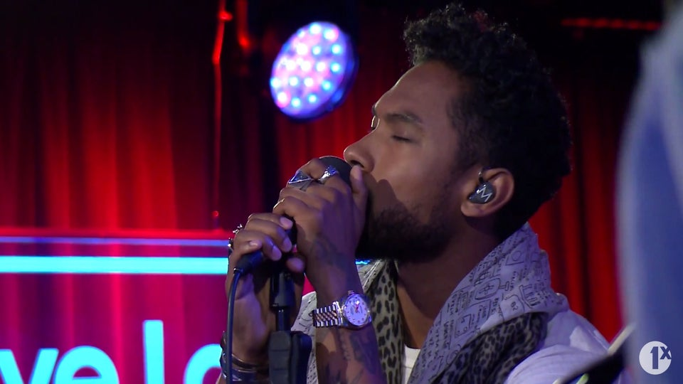 Watch Miguel Perform the Live Version of His Single, 'Coffee' on BBC