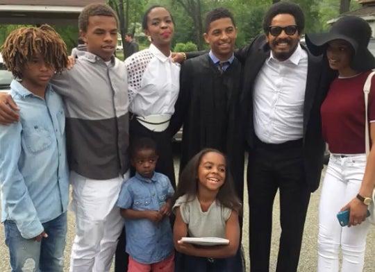 Photo Fab: Lauryn Hill's Son Graduates from High School