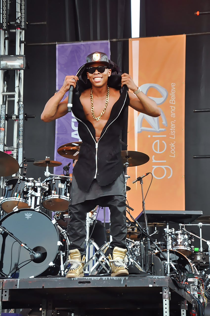 'Empire' Star Hakeem Drops In For Essence Fest