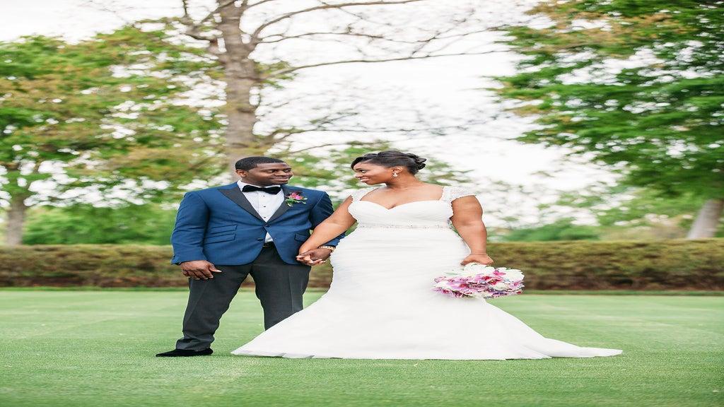 Bridal Bliss: Danaka and Demetrice's North Carolina Wedding
