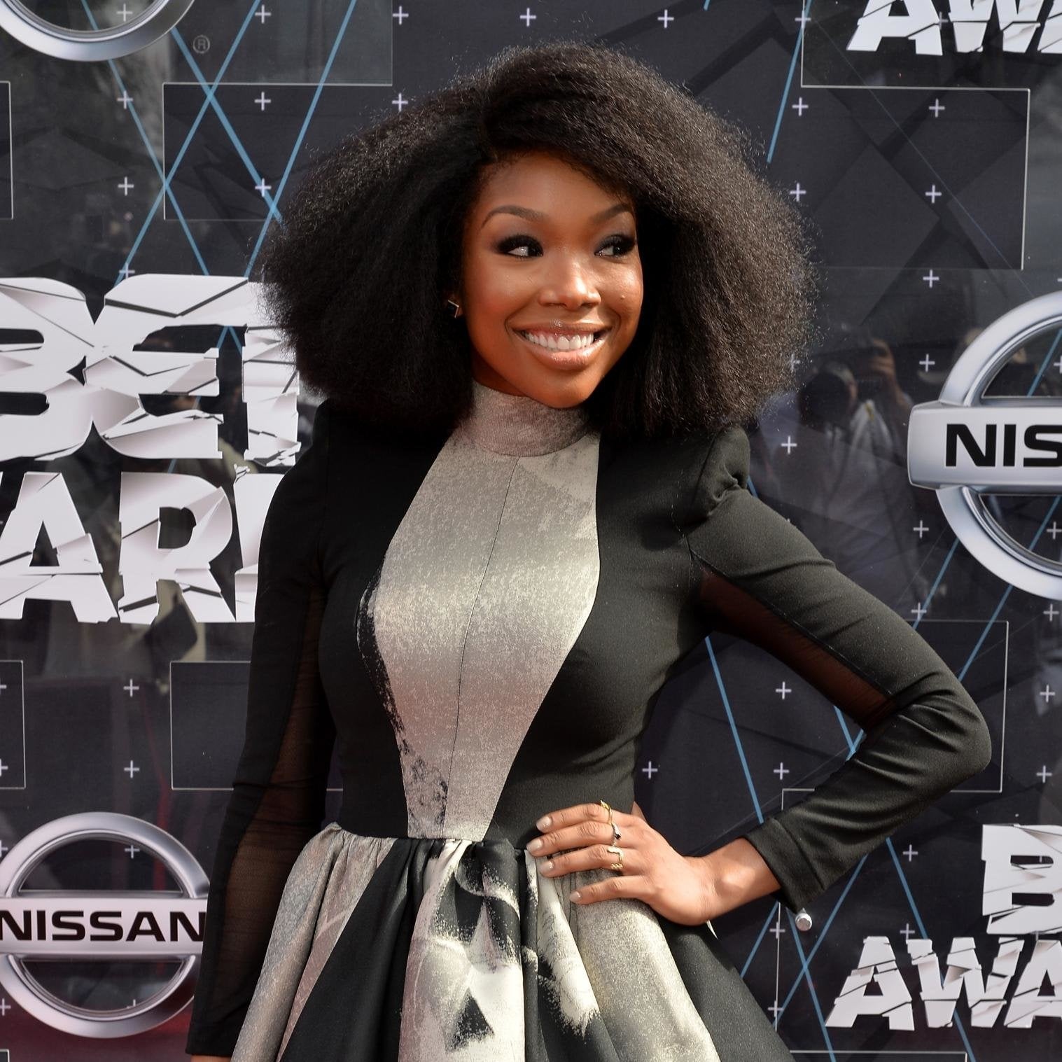 Get Brandy's Hair From The BET Awards