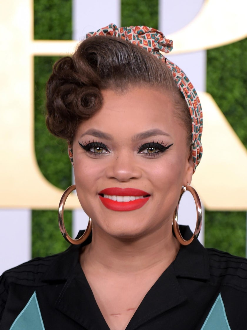 Red-Lipped Maven: Andra Day Talks Beauty