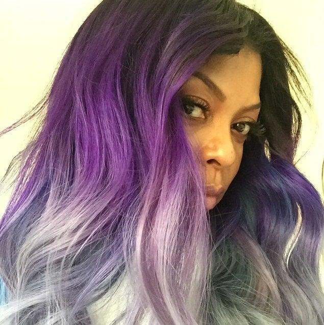 Purple Gray Hair Color 118045 Plum Colored Recent Black And Grey Elegant I Pinimg