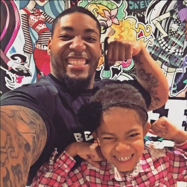 Devon Still Reveals Daughter Leah Is Cancer-Free