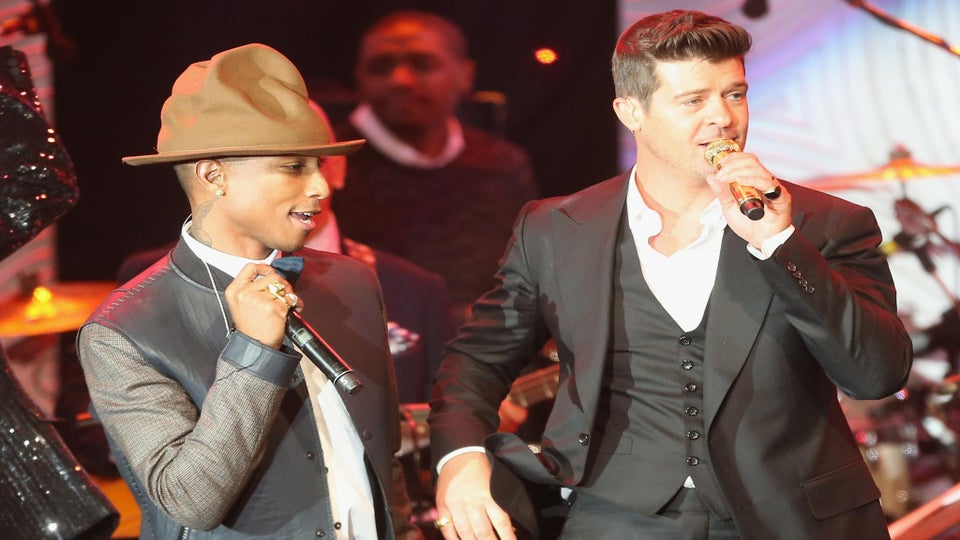 Robin Thicke and Pharrell Appeal Blurred Lines Verdict