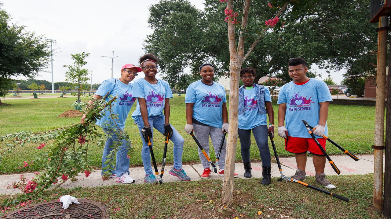 Essence Festival Day of Service Offers Snapshot of New Orleans Recovery