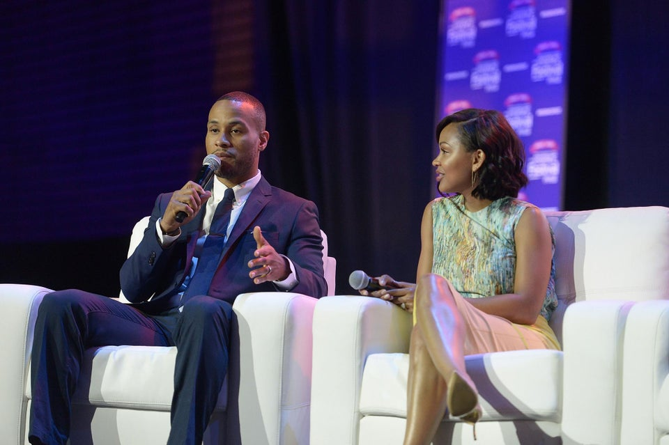 DeVon Franklin to Critics of Meagan Good's Sexy Outfits: 'It's Not About the Dress, It's About Her Heart'
