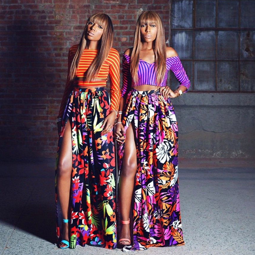 Sister Sister: Identical Twins Make A Surprising Fashion Show Debut