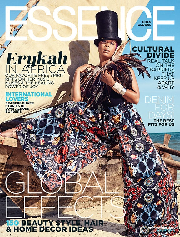 Erykah Badu Regally Owns the August Global Issue Cover of ESSENCE