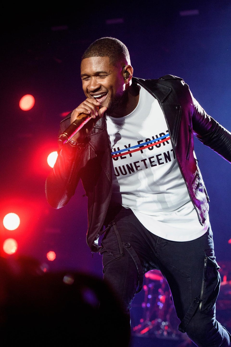 Why Usher's Juneteenth Shirt Means Everything
