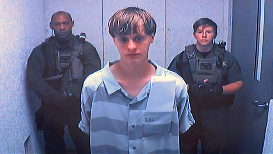 Dylann Roof Says It's 'Not Fair' He Has To Listen To Victims' Families