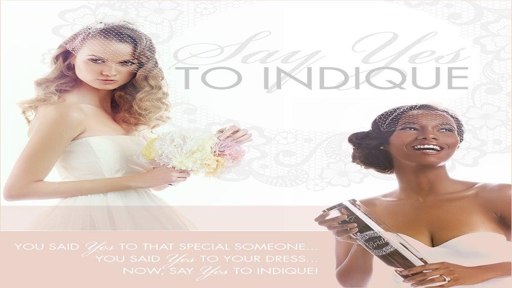 Indique Hair Enters Bridal Category