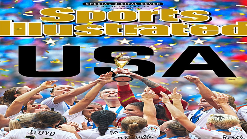 Sports Illustrated Releases Unofficial Cover Commemorating U.S. World Cup Victory