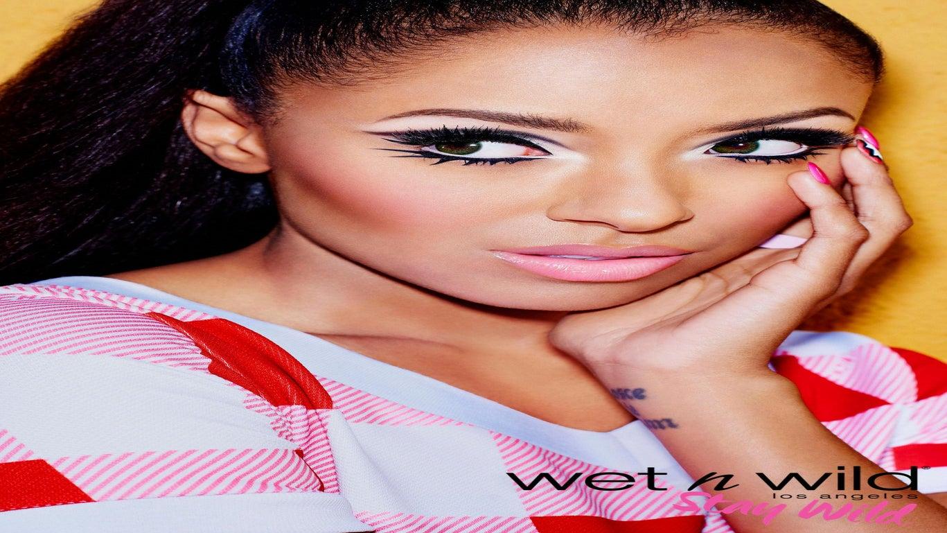 Kat Graham Takes on Wet n Wild
