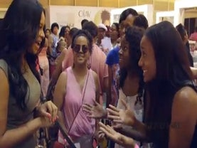 Vanessa Simmons Surprises Two Festival Attendees with Ultra-Fab Makeovers