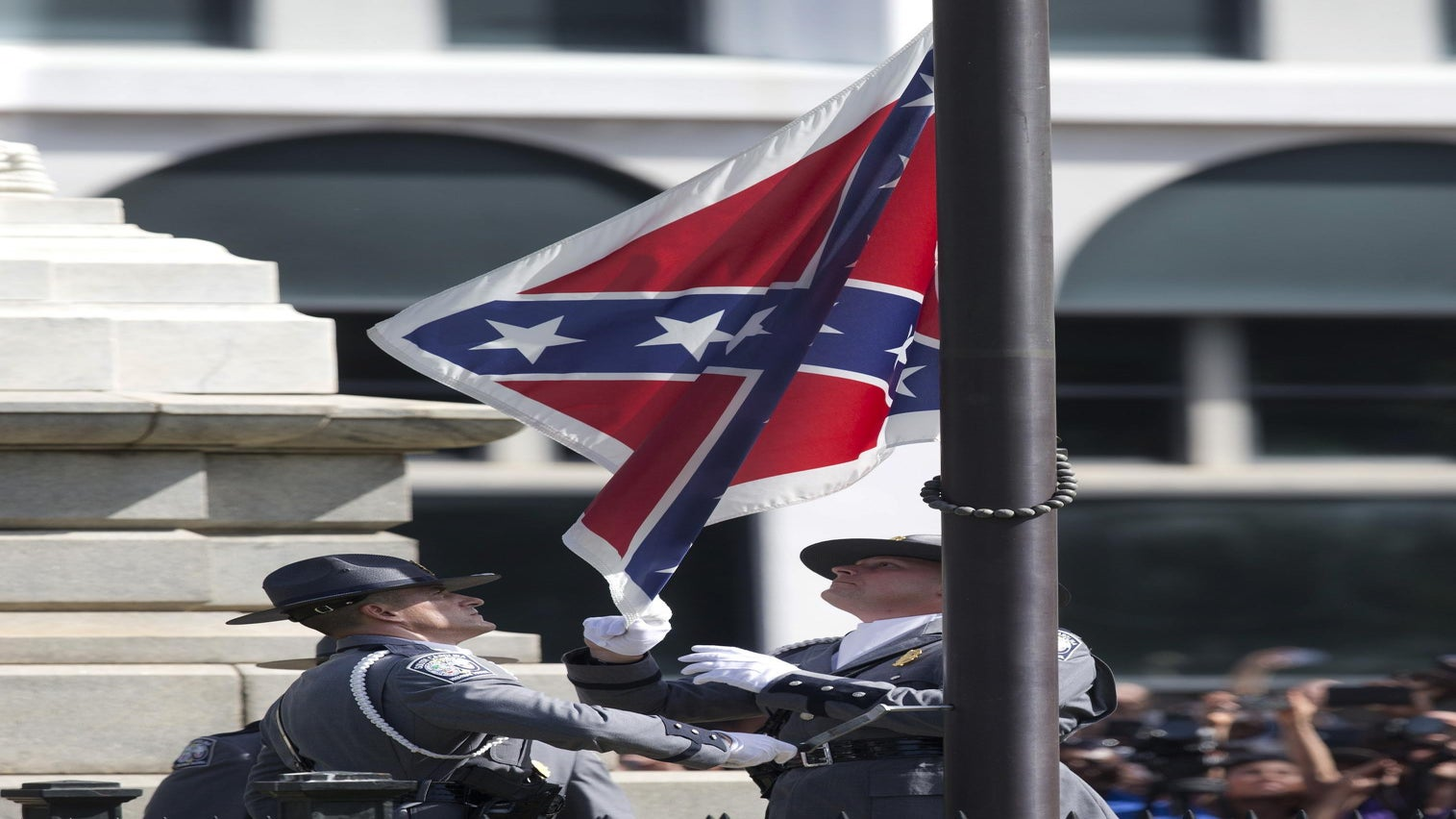 South Carolina Removes the Confederate Flag from State Capital