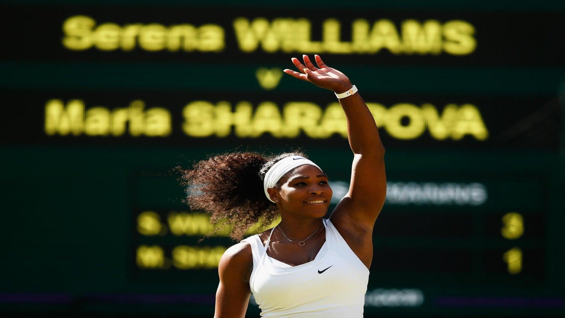 Serena Williams Wins Wimbledon!