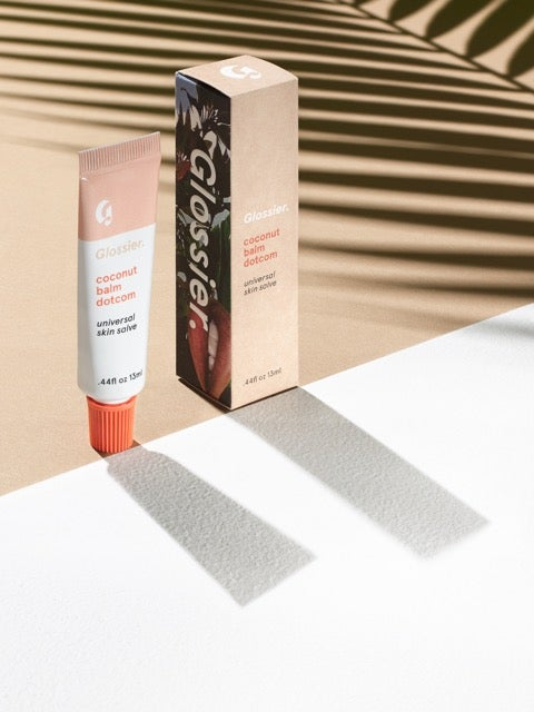 1 Product 3 Ways: Glossier Coconut Balm Dotcom