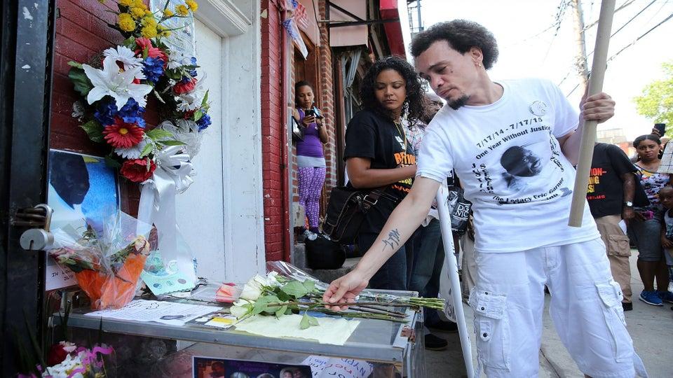 Demonstrations, Vigils Mark One-Year Anniversary of Eric Garner's Death