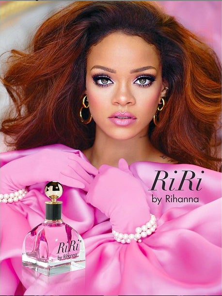 RiRi's New Fragrance is Sweet and Self-Titled