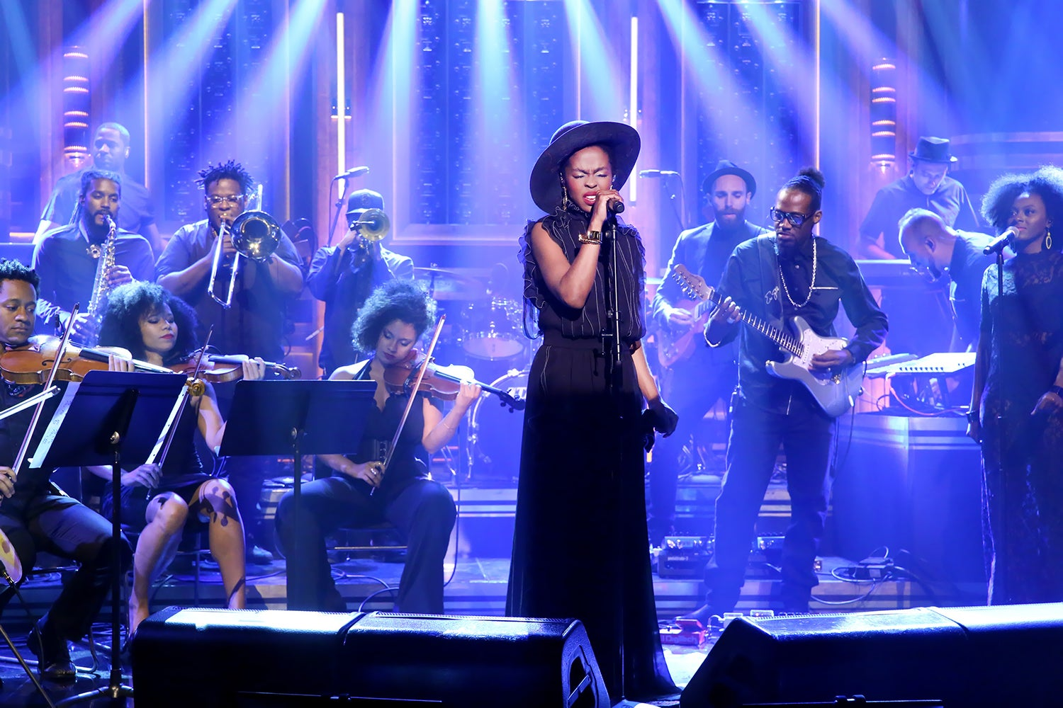 """Must-See: Watch Lauryn Hill Perform Nina Simone's """"Feeling Good"""" on The Tonight Show"""
