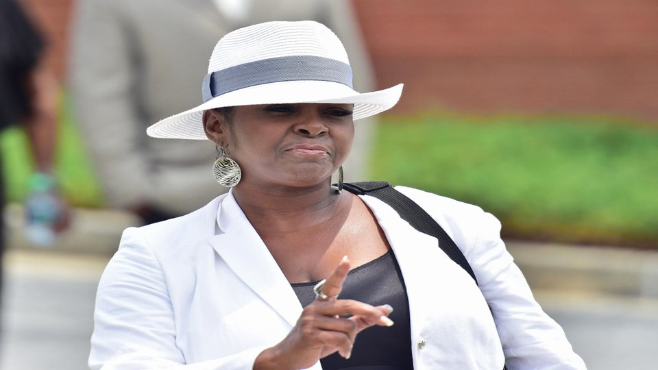 Bobby Brown's Sister Storms Out of Bobbi Kristina's Funeral, Says Whitney Houston Will 'Haunt' Pat Houston