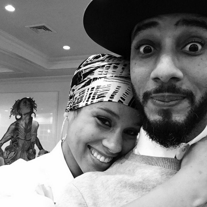 InstaLove: Alicia Keys and Swizz Beatz's Love in Pictures