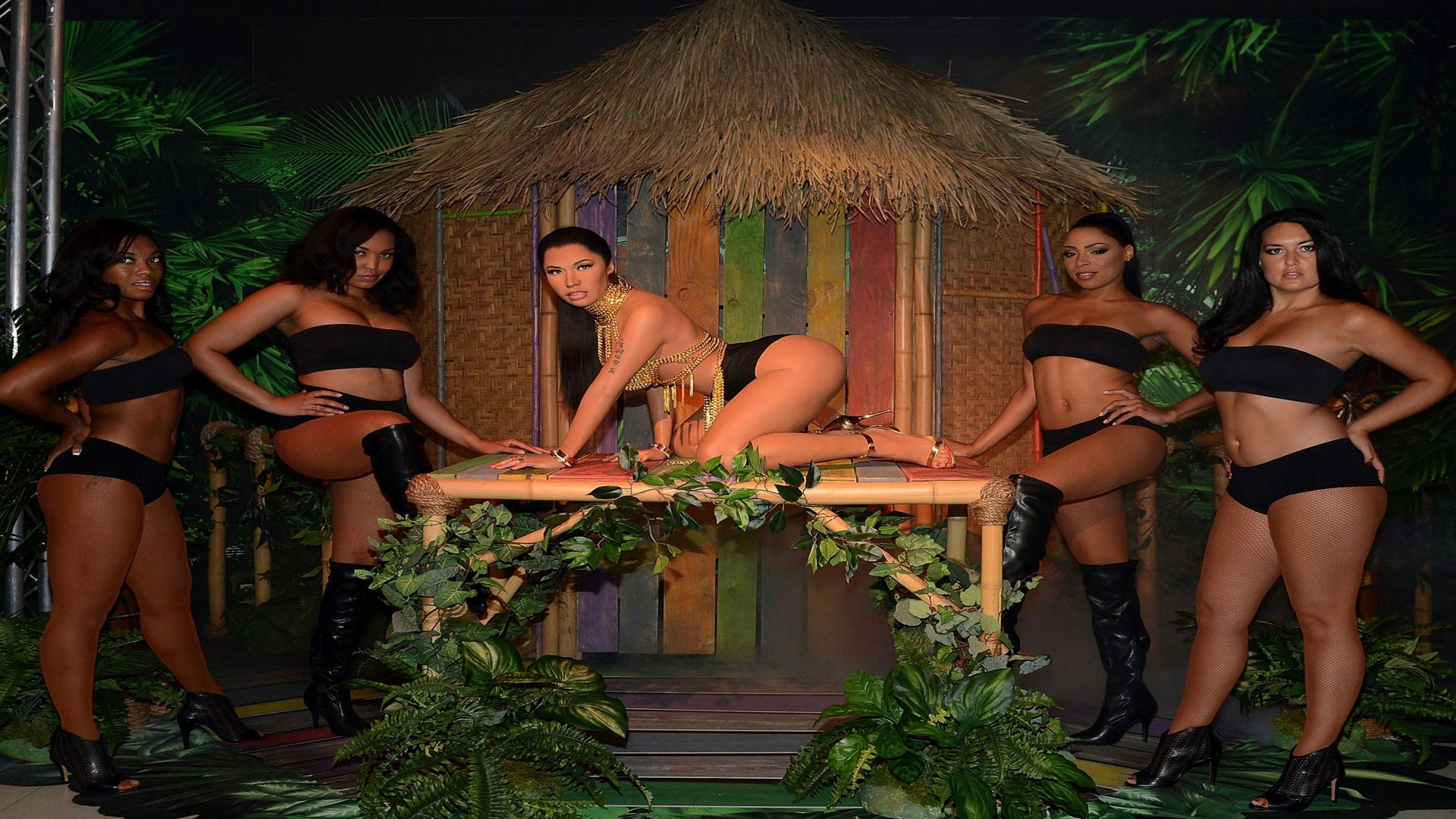 Nicki Minaj's Wax Figure Is Getting Some Inappropriate Attention