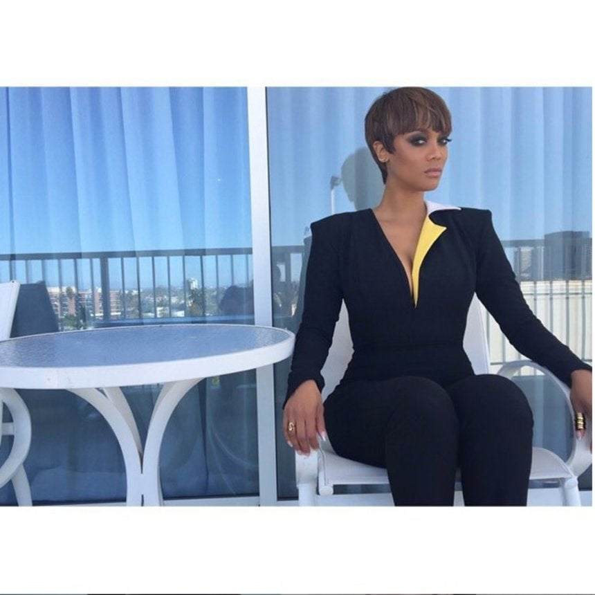 10 Times Tyra Banks' Fierce Fashion Slayed Our Instagram Feed