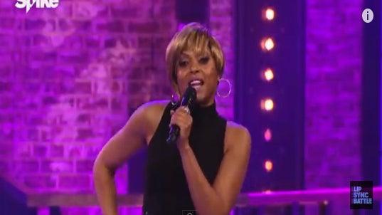 Taraji P. Henson Channels Her Inner Mary J. Blige on 'Lip Sync Battle'