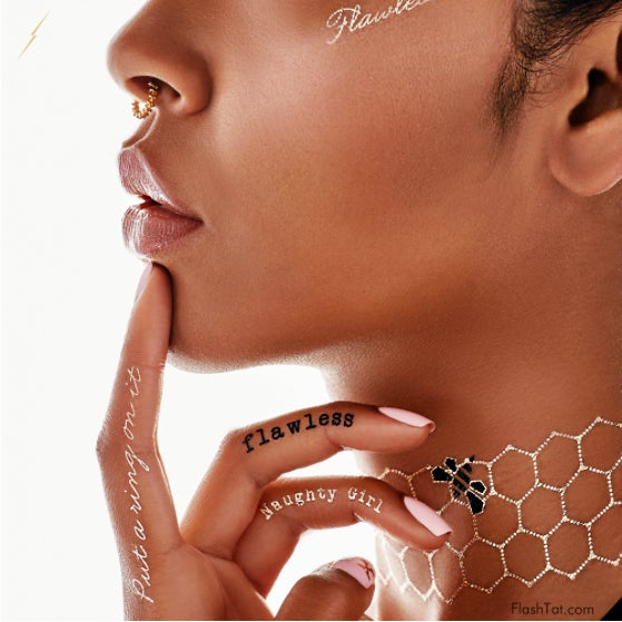 Stop Everything—Beyoncé Has a Line of Flash Tattoos