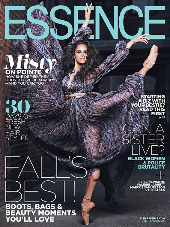 Misty Copeland Dances Onto the September Cover of ESSENCE