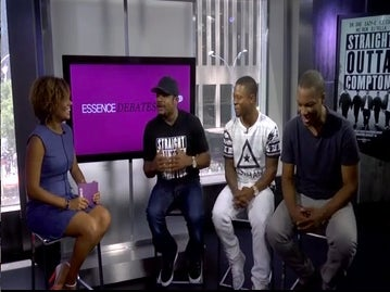 'Straight Outta Compton' Stars Jason Mitchell and Corey Hawkins Open Up About Their Big Break