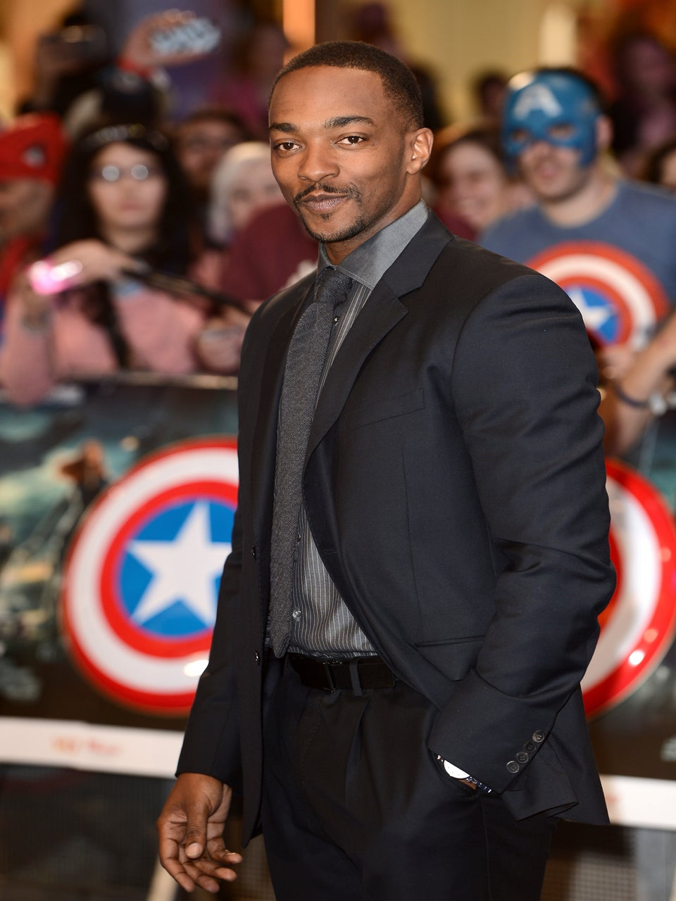 Anthony Mackie on Endorsing Donald Trump: 'Just a Bad Attempt at a Joke'