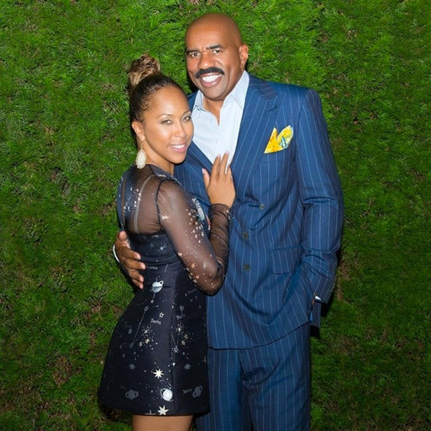 Marjorie Harvey Played the Best April Fool's Joke on Steve Harvey