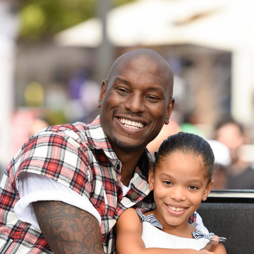 Tyrese Shares Precious Father/Daughter Photo And Message For His 9-Year-Old