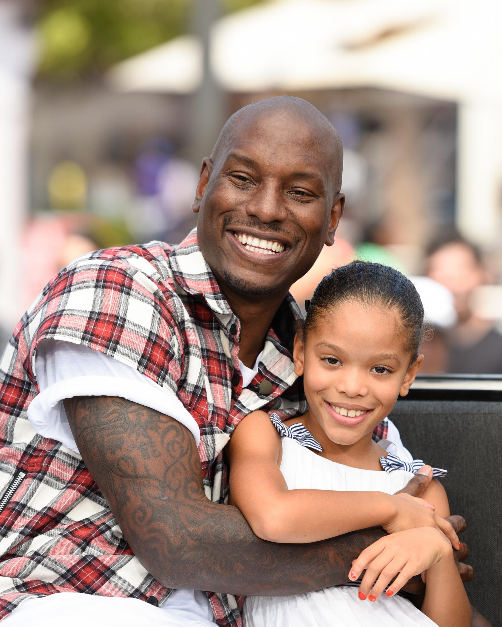 Tyrese Shares Precious Father-Daughter Photo And Message For His 9-Year-Old