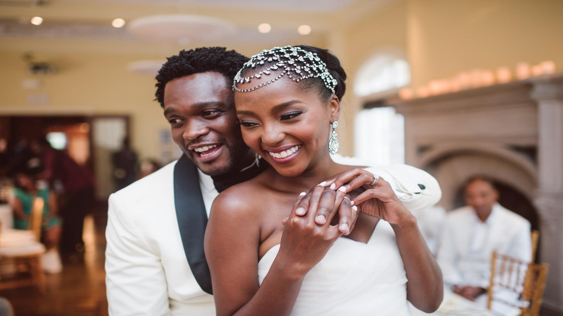 Bridal Bliss: Makho and Carl's Indiana Wedding