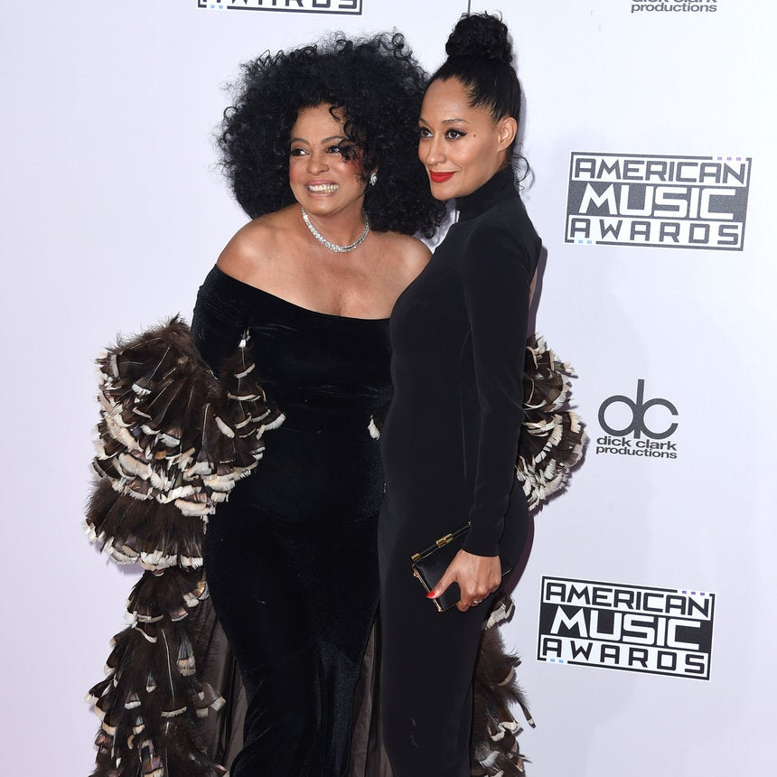 Tracee Ellis Ross Joins Mom Diana Ross on Stage to Sing 'Lady Sings the Blues'