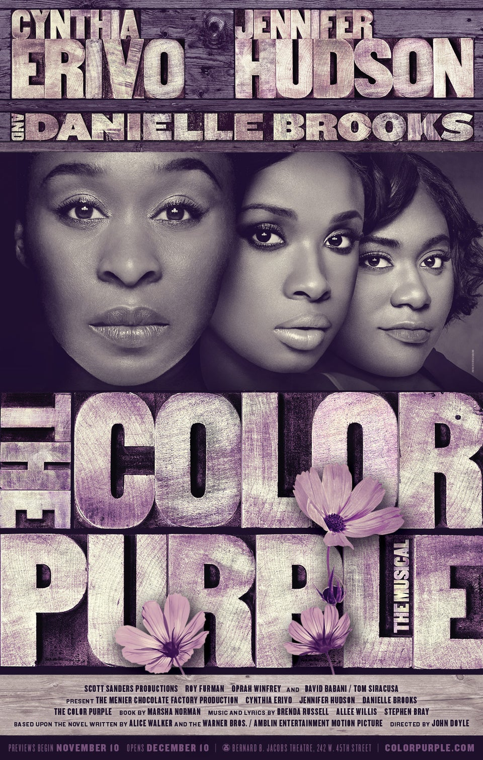 EXCLUSIVE: See Poster for Broadway Revival of 'The Color Purple'