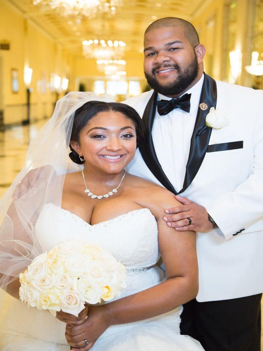 Bridal Bliss: Kiara and Malik's Washington D.C. Wedding