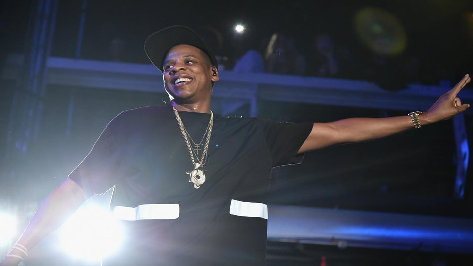 Must-See: Jay-Z Spotted Stanning Hard for Beyoncé During Made in America Festival