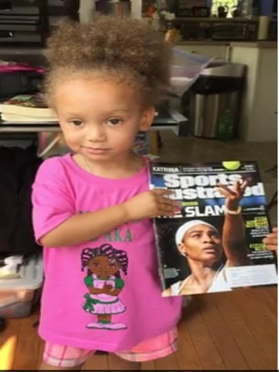 Must See: Three-Year-Old Says She's Just 'Like Serena Williams'