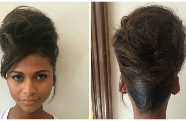 Master The Updo From The LaQuan Smith S/S Fashion Show