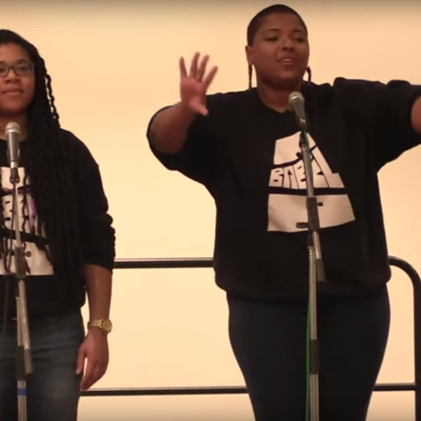 Watch Two Young Poets Deliver a Strong Message to Black Men Who Disrespect Black Women