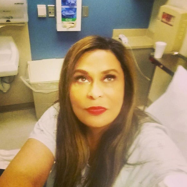 Get Well Soon! Tina Knowles-Lawson Hospitalized Over the Weekend After Asthma Attack